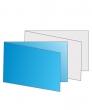 Visitekaartjes, 11 x 8,5 cm + vouwen