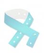 Vinyl polsbandjes, licht blauw
