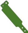 Vinyl polsbandjes, donker groen